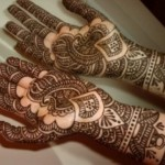Latest Beautiful Hand Mehndi Designs 2013-2014 For Bridal (1)