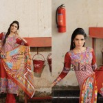 Latest LALA Dresses Collection 2013 002