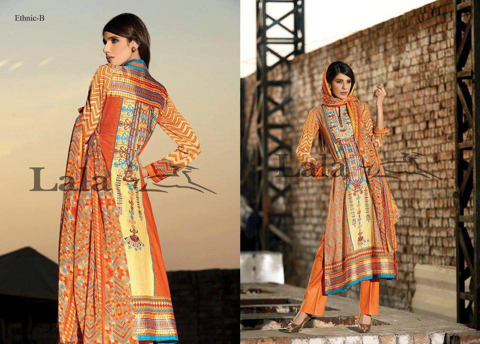 Latest LALA Dresses Collection 2013 005