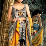 Latest Spring Summer Lawn Dresses Collection 2013 By Mahnoush 0011