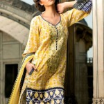 Latest Spring Summer Lawn Dresses Collection 2013 By Mahnoush 0012