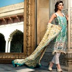 Latest Spring Summer Lawn Dresses Collection 2013 By Mahnoush 003