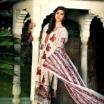 Latest Spring Summer Lawn Dresses Collection 2013 By Mahnoush 008