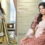 Latest Women Wear Rashid Summer Classic Lawn Collection 2013-14 (1)