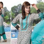 Latest Women Wear Rashid Summer Classic Lawn Collection 2013-14 (2)