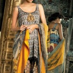 Mahnoush Spring Summer Lawn 2013 Collection for women 0010