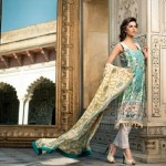 Mahnoush Spring Summer Lawn 2013 Collection for women 0011