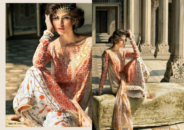 Mahnoush Spring Summer Lawn 2013 Collection for women 005