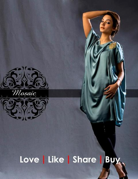 Mosaic By Sundus Latest Formal Wear collection 2013 for women 001