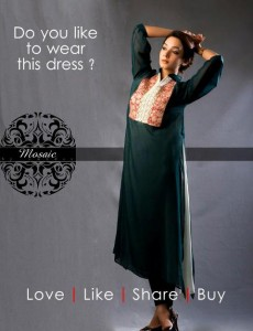Mosaic By Sundus Latest Formal Wear collection 2013 for women 002