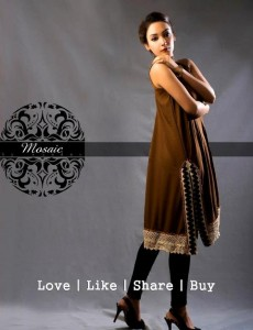 Mosaic By Sundus Latest Formal Wear collection 2013 for women 004