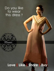 Mosaic By Sundus Latest Formal Wear collection 2013 for women 008