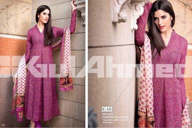 Original Lawn Collection 2013 by Gul Ahmed for Summer 001