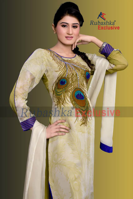 Party Wear Summer Dress Collection 2013 For Women By Rubashka Fashion (6)