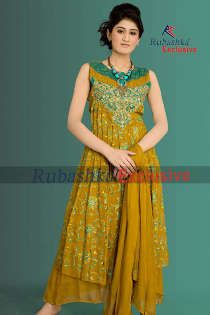 Party Wear Summer Dress Collection 2013 For Women By Rubashka Fashion