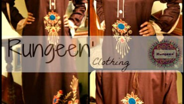 Rungeen Clothing Latest Party Wear Dresses Collection 2013 For girls & Women 001