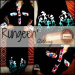 Rungeen Clothing Latest Party Wear Dresses Collection 2013 For girls & Women 0010