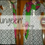 Rungeen Clothing Latest Party Wear Dresses Collection 2013 For girls & Women 0012