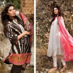 Sana Safinaz Lawn Dresses Collection 2013 007