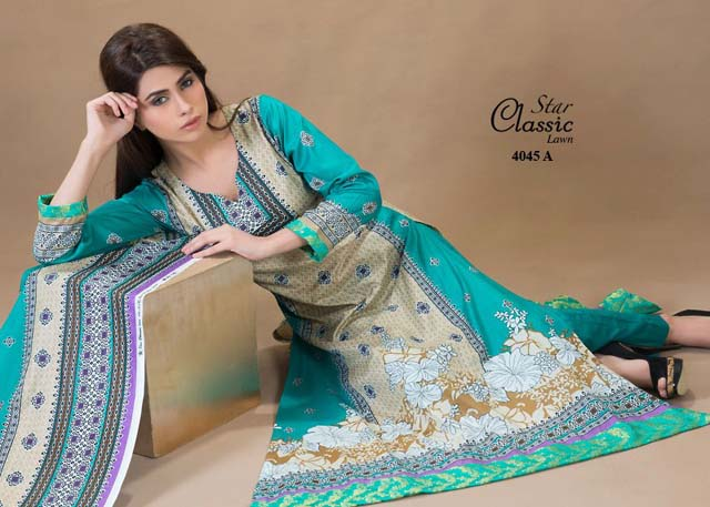 Star Classic Lawn 2013 Catalogue by Naveed Nawaz Textile 001