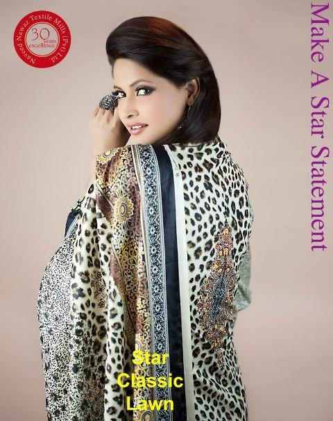 Star Classic Lawn Prints 2013 By Naveed Nawaz Textiles 001