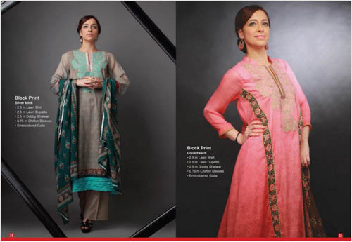 Thread Line Summer Collection 2013 For Women By Orient Textiles 001