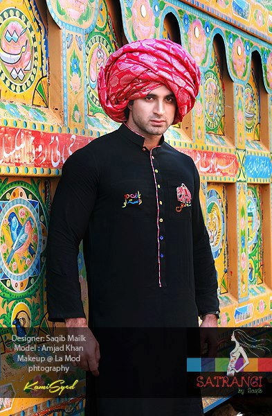 Truck Art Desi Fashion Summer Dresses 2013 For Men Women 001