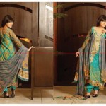 Zeb Aisha Spring Summer Lawn Collection 013 by Al Zohaib Textile 0013