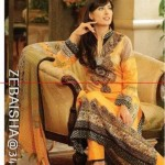 Zeb Aisha Spring Summer Lawn Collection 013 by Al Zohaib Textile 003