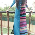 Affordable Stylish Kurtas Collection 2013 For Women 005
