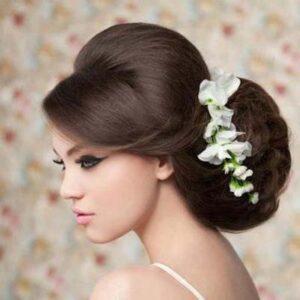 Latest Beautiful & Stylish New Wedding Hair Style Collection 2013