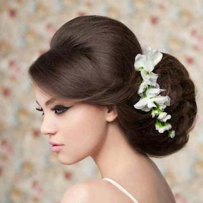 Latest Beautiful & Stylish New Wedding Hair Style Collection 2013