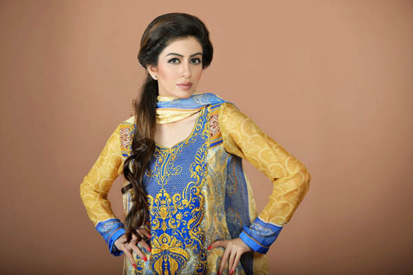 Latest Aroshi Embroidered Classics Summer Lawn Collection 2013 For Women