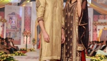 Latest Asifa & Nabeel Collection 2013 At Pantene Bridal Couture Week