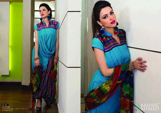 Bashir Ahmed Embroidered Lawn Collection 2013 For Women 004