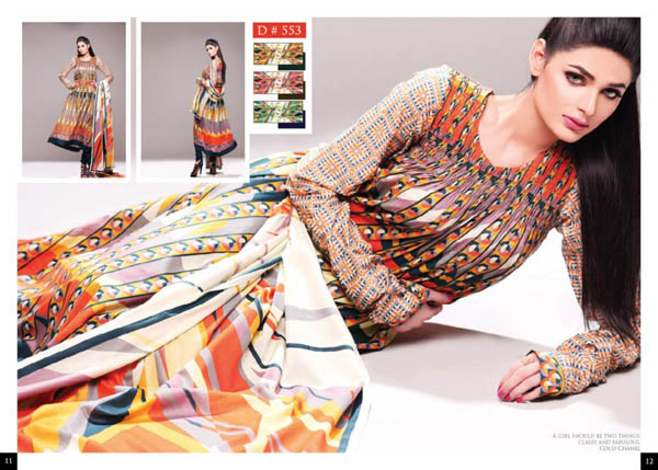 Latest Batik Lawn Collection 2013 For Women By Moon Textile