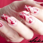 Beautiful-New-Valentines-Day-Nail-Art- 9