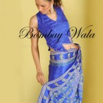 Bombay Wala Stylish Traditional Saree Collection 2013 For Women 02