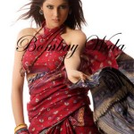 Bombay Wala Stylish Traditional Saree Collection 2013 For Women 04