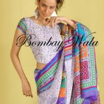 Bombay Wala Stylish Traditional Saree Collection 2013 For Women 05
