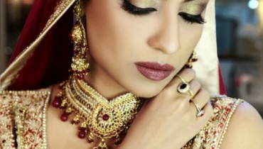 Latest Bridal Makeover Shoot 2013 Shagufta Fringe