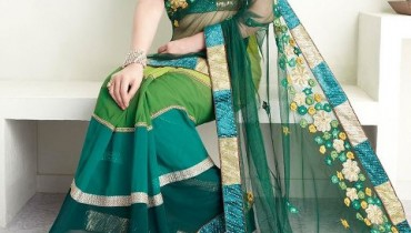 Latest Bridal Saree Collection 2013 By Brides Galleria