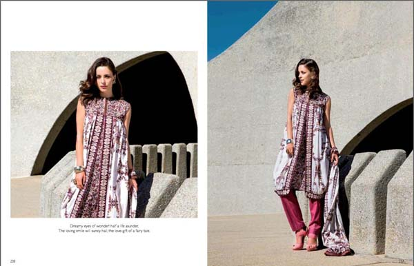 Classic Lawn Collection 2013' By Five Star mills For Women 007
