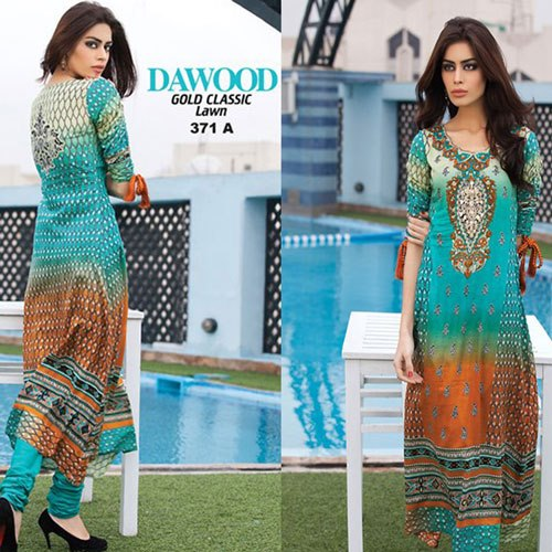 DAWOOD Gold Classic Lawn Collection 2013 001