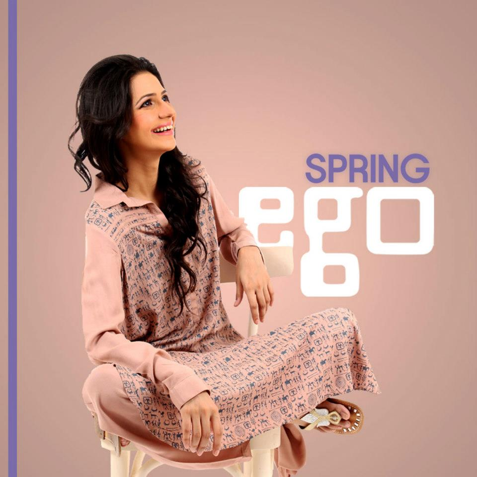 EGO 2 Piece Kameez Shalwar For Women Collection 2013 001