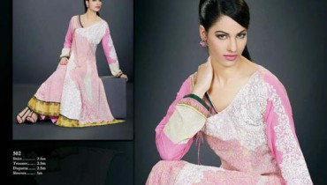Embroidered Swiss Voile Spring Summer collection 2013 For Women 001