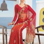 Latest Trends 2013 Bridal Saree For Women