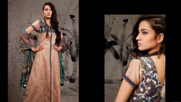 Fall Rewaj Collection for Women 2013 by Shariq Textiles