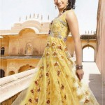 Fashion Of Frocks Designs 2013 For Girls 12