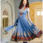 Fashion Of Frocks Designs 2013 For Girls 3